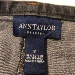 Ann Taylor Skirts - Ann Taylor denim pencil skirt!